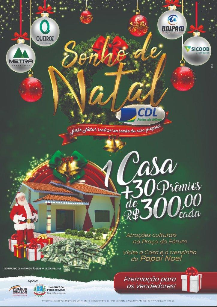 CDL lança campanha Sonho de Natal 2018