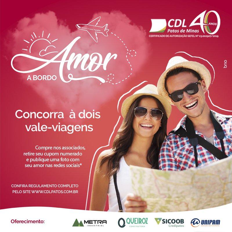 Campanha Amor a Bordo irá sortear viagens românticas aos namorados