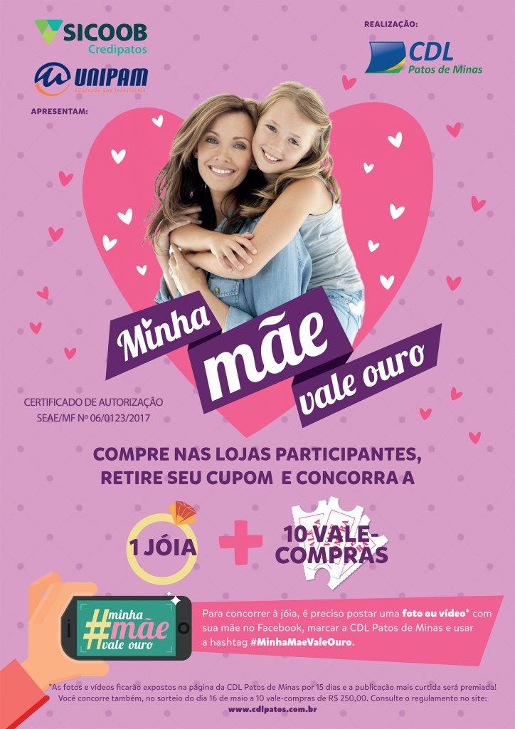 CDL realiza sorteio de prêmios da campanha do Dia das Mães