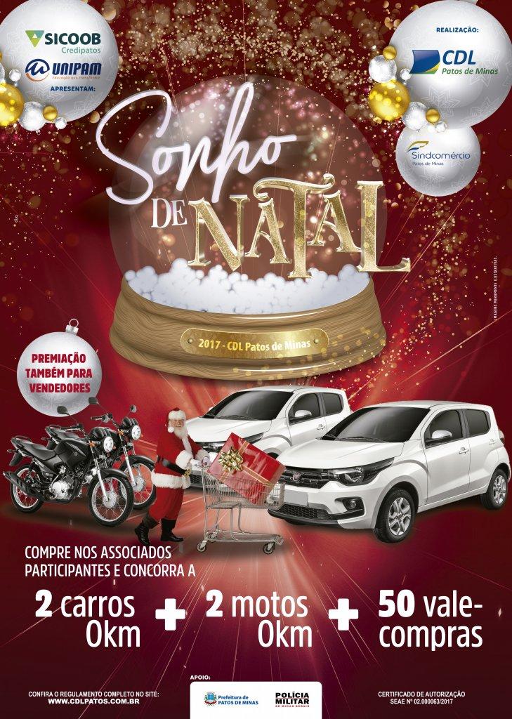 CDL lança campanha Sonho de Natal 2017