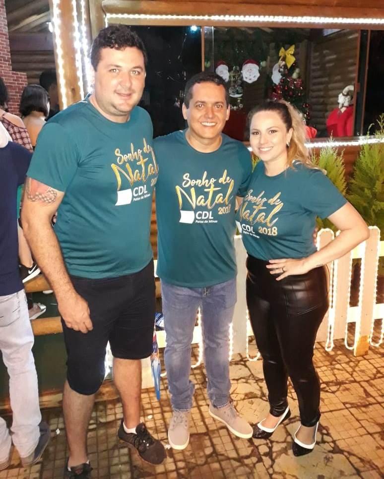 Flashes da campanha Sonho de Natal da CDL Patos de Minas