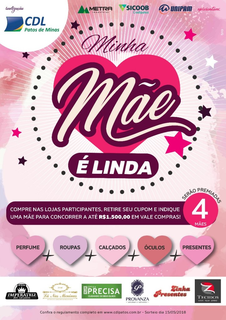 Campanha Minha Mãe é Linda 2018