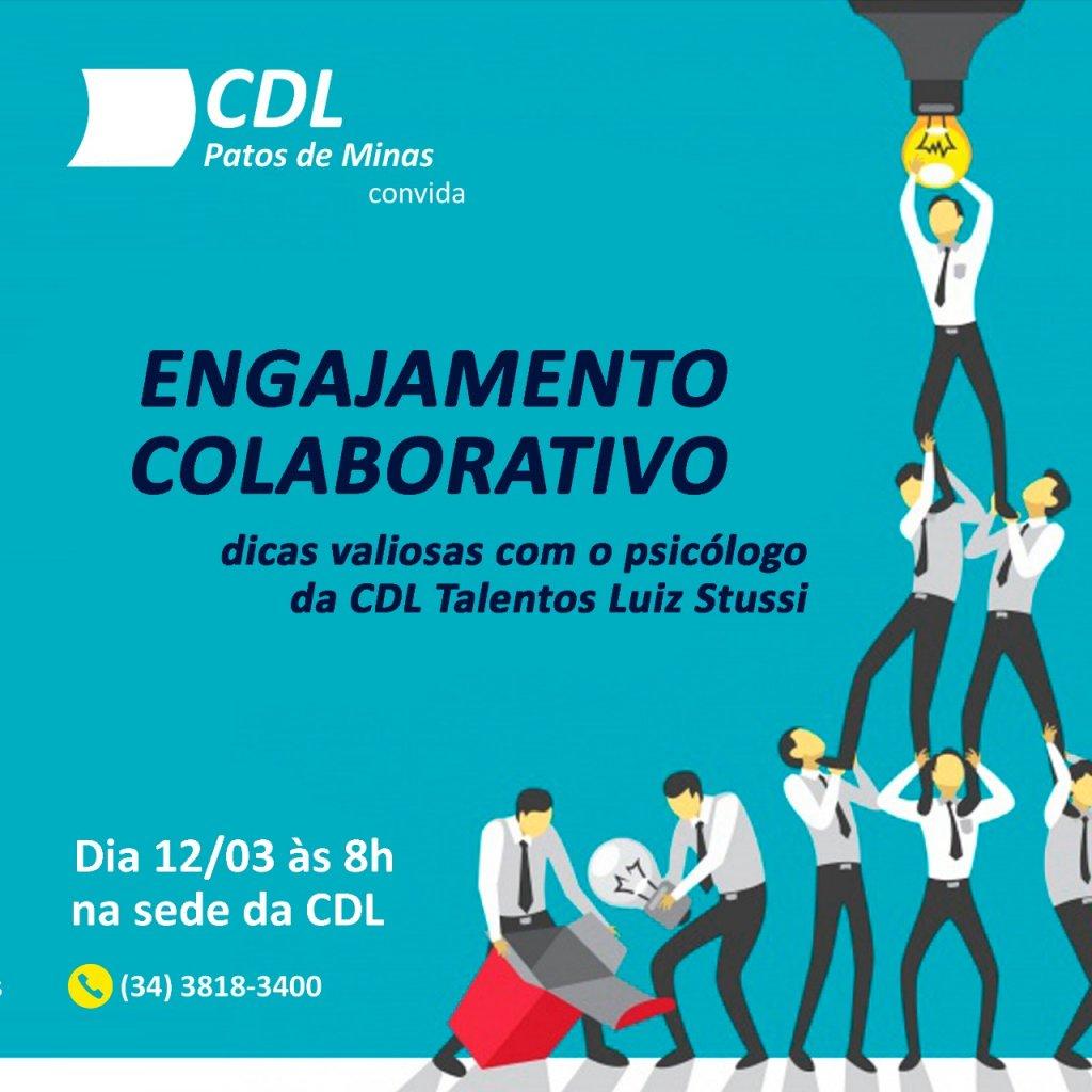 CDL Promoverá Palestra sobre Engajamento Colaborativo