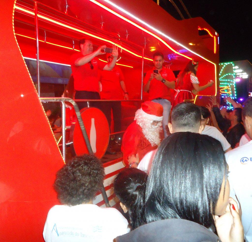 Chegada do Papai-Noel será neste sábado, na praça do antigo Fórum