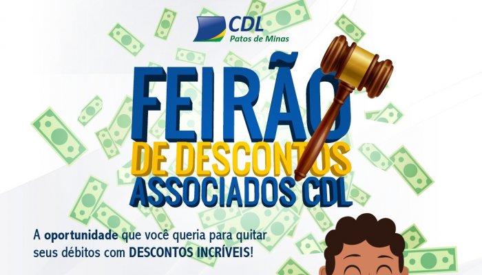 Feirão de Descontos CDL : Quite agora as suas dívidas com descontos de até 100% em juros e multas.
