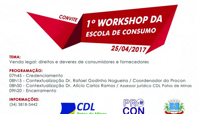 Workshop da Escola de Consumo