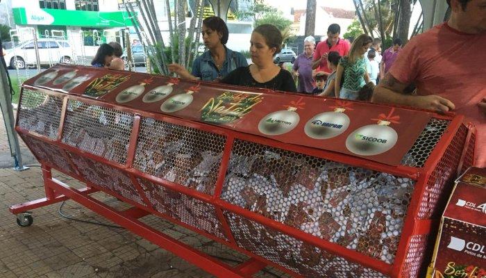 CDL Patos de Minas realiza a terceira rodada de sorteios da Campanha Sonho de Natal