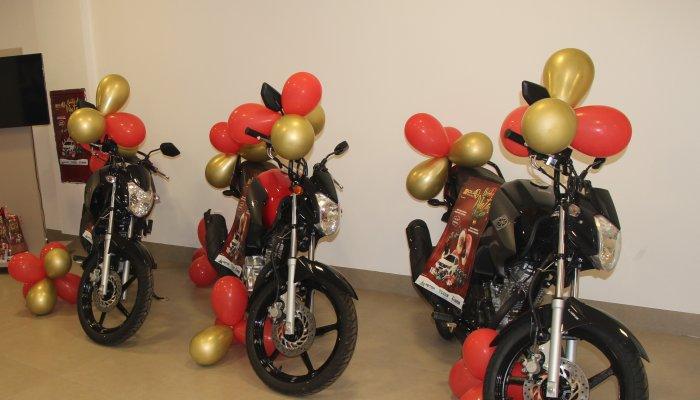 CDL realizará entrega oficial das motos aos premiados da Campanha Sonho de Natal, nesta sexta-feira.
