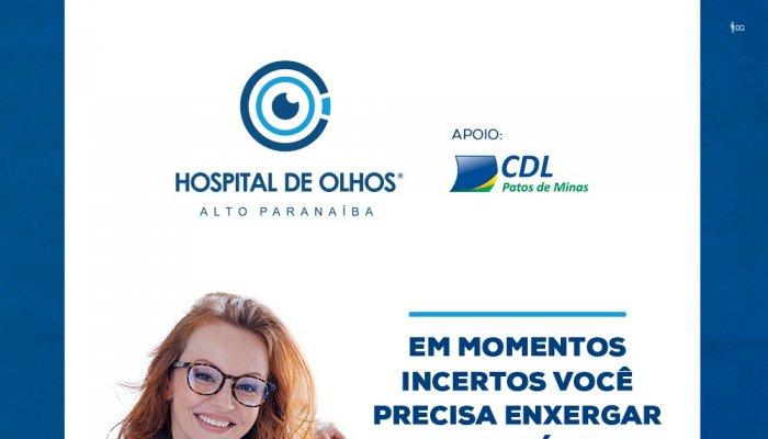 Mais benefícios para os seus associados: CDL firma parceria com o Hospital de Olhos