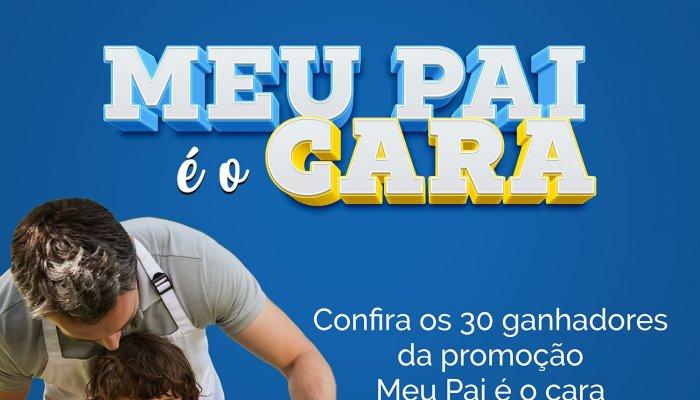 CDL divulga lista de ganhadores da promoção Meu Pai é o Cara!
