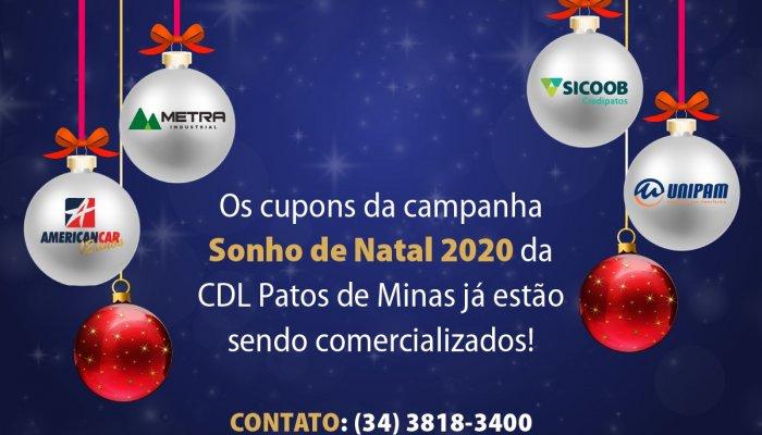 CDL lança campanha de Natal com desconto de 10%
